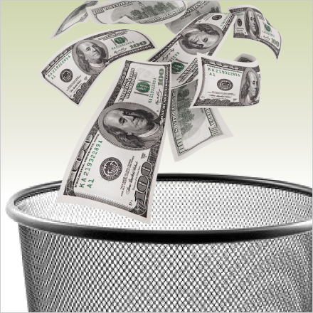 Does throwing investment away make you sick?